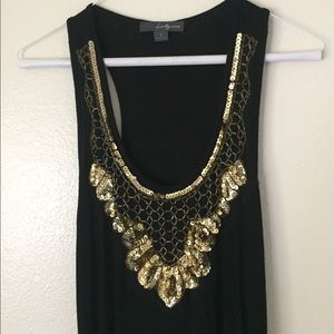 Ruched Sequin Forever 21 Bodycon Dress